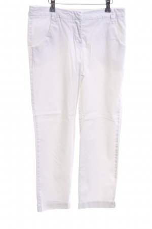 Yessica 3/4 Length Trousers white casual look