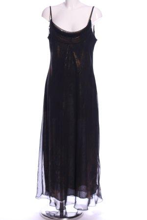 Yessica Abendkleid schwarz-bronzefarben Elegant