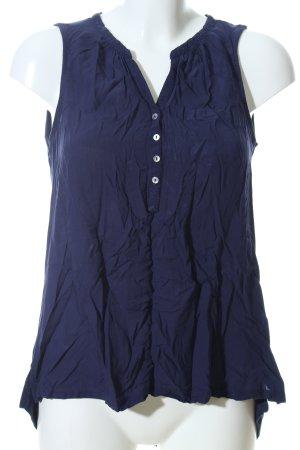 Yessica ärmellose Bluse blau Casual-Look