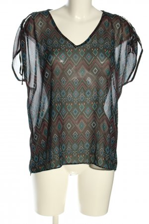 Yessica ärmellose Bluse Allover-Druck Casual-Look
