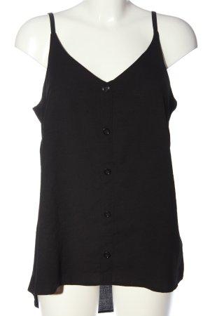 Yessica Blouse topje zwart casual uitstraling