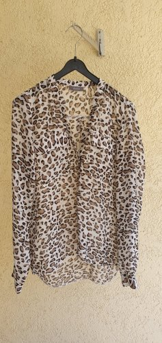 Yessica animalier-Print Bluse  Größe S