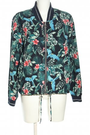 Yessica Blouson Allover-Druck Casual-Look