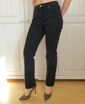 Yessica C&A 38 S M Gerade Hose Jeans Röhrenhose Röhrenjeans Pants Anzughose High waist Chinohose Karottenhose
