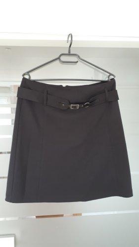 Yessica Jupe en tweed noir