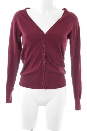 Yessica Cardigan rot Casual-Look