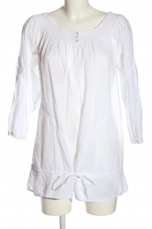 Yessica Carmen Blouse white casual look