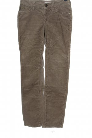 Yessica Corduroy Trousers brown casual look