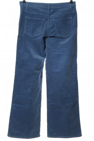 Yessica Corduroy Trousers blue casual look