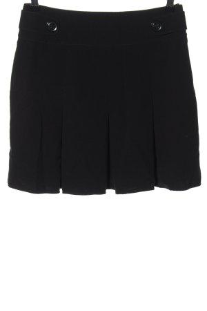 Yessica Plisowana spódnica czarny W stylu casual