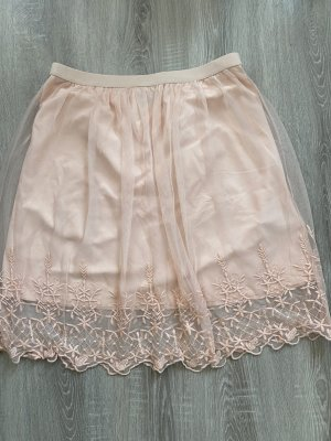 C&A Yessica Tulle Skirt nude mixture fibre