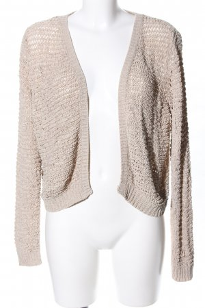Yessica Crochet Cardigan natural white casual look