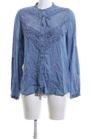 Yessica Hemd-Bluse blau Casual-Look