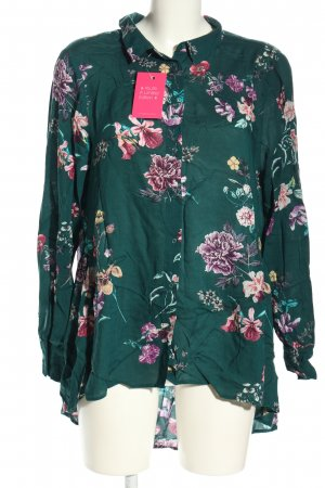 Yessica Hemd-Bluse Allover-Druck Casual-Look
