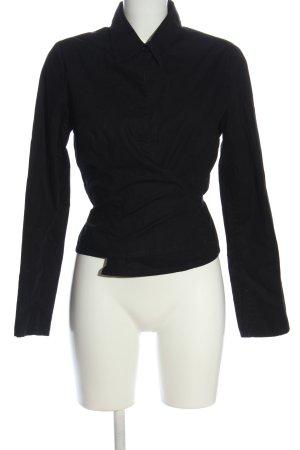Yessica Hemd-Bluse schwarz klassischer Stil