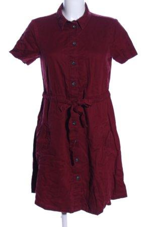 Yessica Shirtwaist dress red casual look