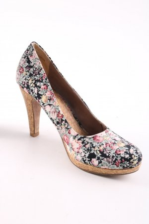 Yessica High Heels Blumenmuster Casual-Look