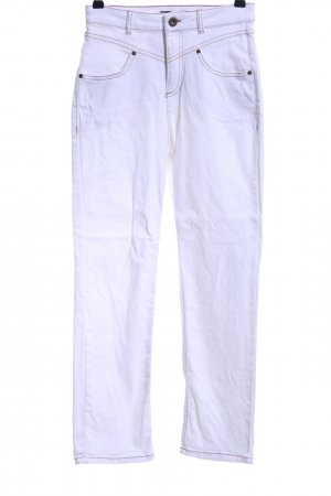 Yessica High Waist Jeans weiß-beige Casual-Look