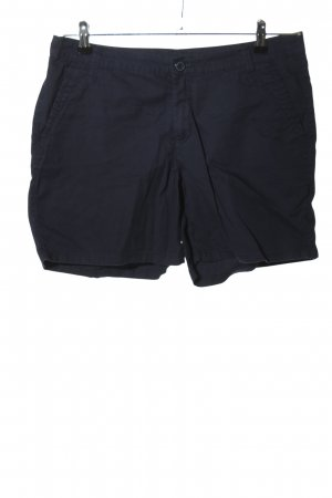 Yessica High-Waist-Shorts blau Casual-Look