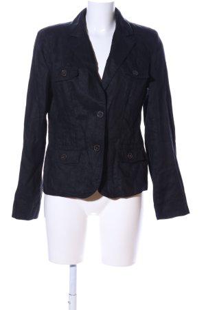 Yessica Jersey blazer zwart casual uitstraling