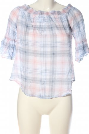 Yessica Karobluse Karomuster Casual-Look
