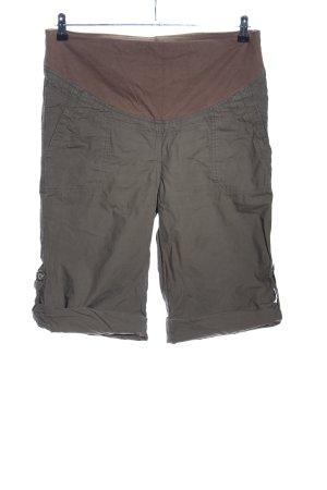 Yessica Pantalon kaki kaki-brun style décontracté