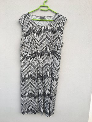 Yessica Kleid schwarz weiß L