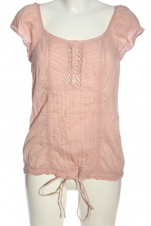 Yessica Kurzarm-Bluse pink Casual-Look