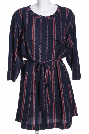 Yessica Kurzarm-Bluse abstraktes Muster Casual-Look