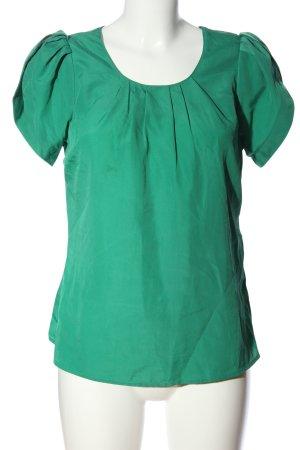 Yessica Kurzarm-Bluse grün Casual-Look
