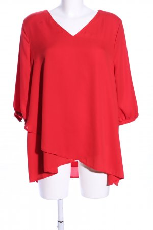 Yessica Kurzarm-Bluse rot Casual-Look