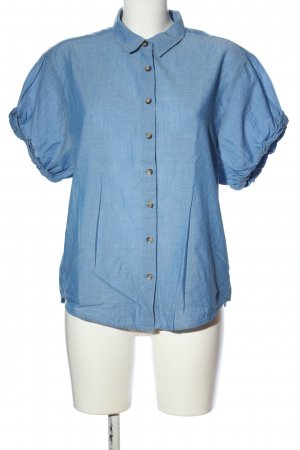 Yessica Shirt met korte mouwen blauw casual uitstraling