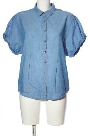 Yessica Short Sleeve Shirt blue casual look