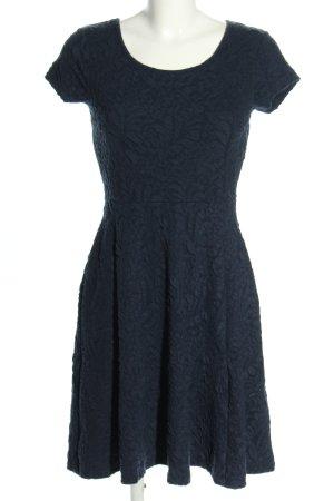 Yessica Kurzarmkleid blau Casual-Look