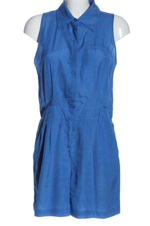 Yessica Kurzer Jumpsuit bleu style décontracté