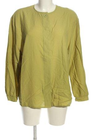 Yessica Langarm-Bluse grün Casual-Look