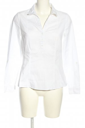 Yessica Langarm-Bluse weiß Business-Look