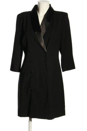 Yessica Vestido de manga larga negro estilo «business»