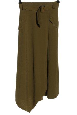 Yessica Falda larga marrón