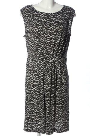 Yessica Minikleid schwarz-weiß Allover-Druck Casual-Look