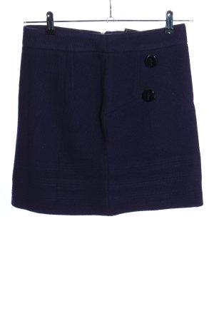 Yessica Mini rok blauw zakelijke stijl