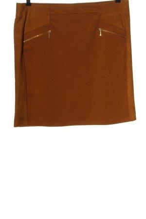 Yessica Mini rok bruin casual uitstraling