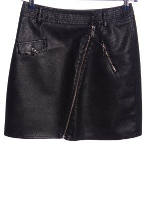 Yessica Mini rok zwart casual uitstraling