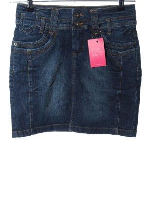 Yessica Mini rok blauw casual uitstraling