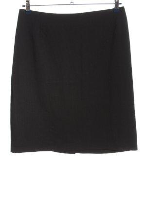 Yessica Mini rok zwart-wit gestreept patroon zakelijke stijl