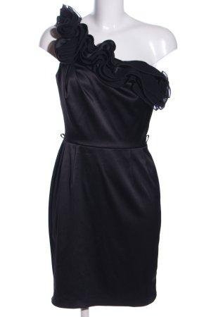 Yessica Robe asymétrique noir élégant