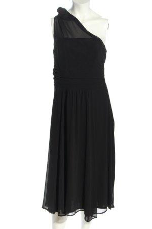 Yessica One-Shoulder-Kleid schwarz Elegant