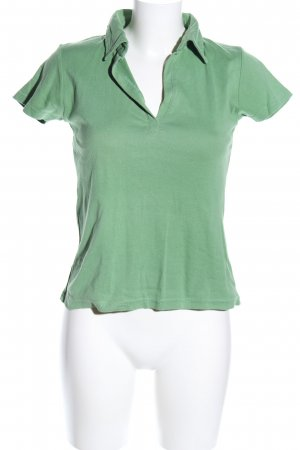 Yessica Polo-Shirt grün Casual-Look