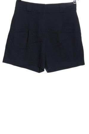 Yessica Premium Pantaloncino a vita alta nero stile casual