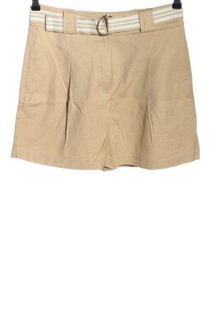 Yessica Premium High-Waist-Shorts nude-weiß Casual-Look